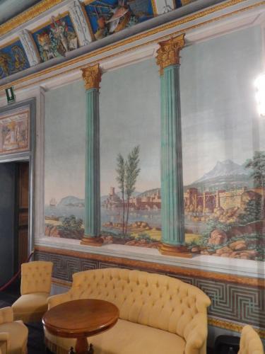 Inside Donnafugata Castle