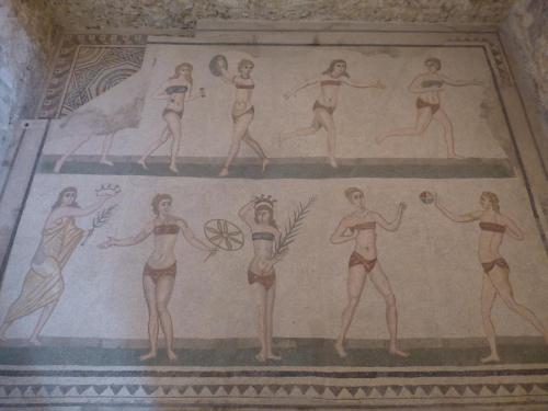 Mosaics at Piazza Armerina